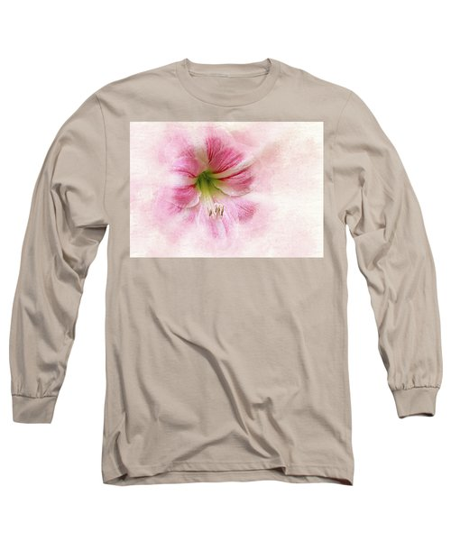 Abstract Amaryllis Long Sleeve T-Shirt