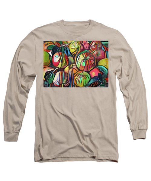 Abstract Apples Long Sleeve T-Shirt