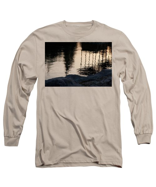 Abstract Color 2 Long Sleeve T-Shirt