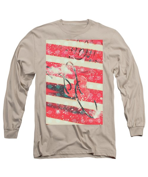 Abstract Dynamite Charge Long Sleeve T-Shirt