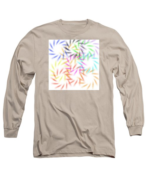 Abstract Fireworks Long Sleeve T-Shirt