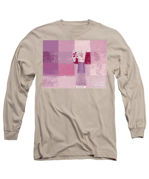 Abstract Floral - 11v3t09 Long Sleeve T-Shirt