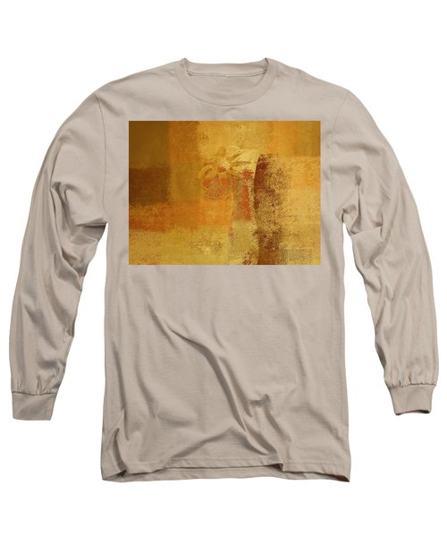 Abstract Floral - 14v2ct01a Long Sleeve T-Shirt by Variance Collections