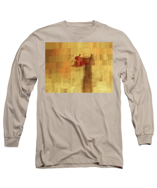 Abstract Floral - 14v2ft Long Sleeve T-Shirt by Variance Collections