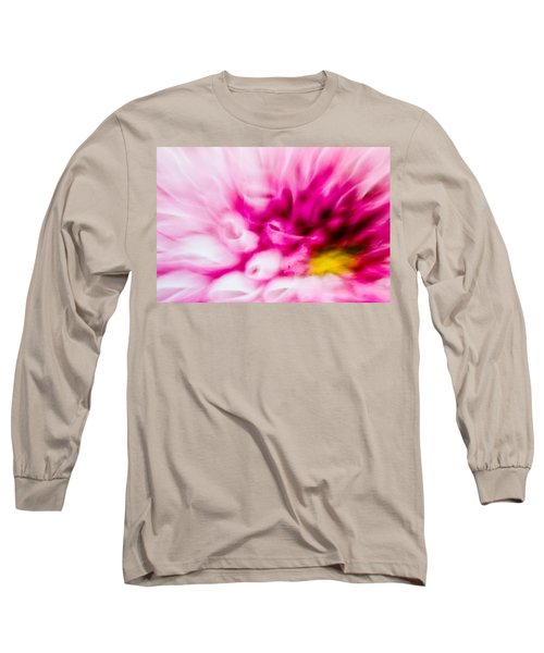 Abstract Floral No. 1 Long Sleeve T-Shirt