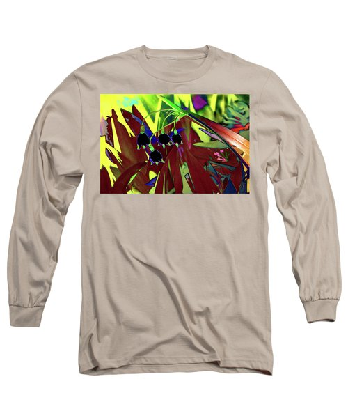 Abstract Flowers Of Light Series #10 Long Sleeve T-Shirt