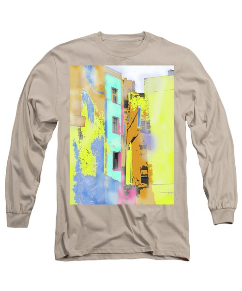 Abstract  Images Of Urban Landscape Series #2 Long Sleeve T-Shirt