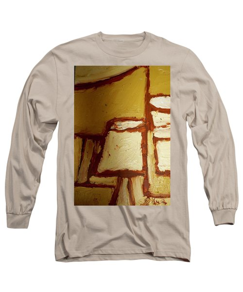 Abstract Lamp Number 4 Long Sleeve T-Shirt by Shea Holliman