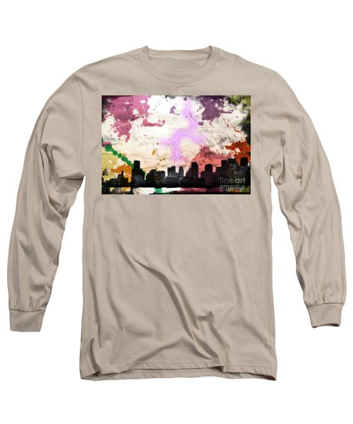 Long Sleeve T-Shirt featuring the photograph Lightning Strikes  by Gary Smith