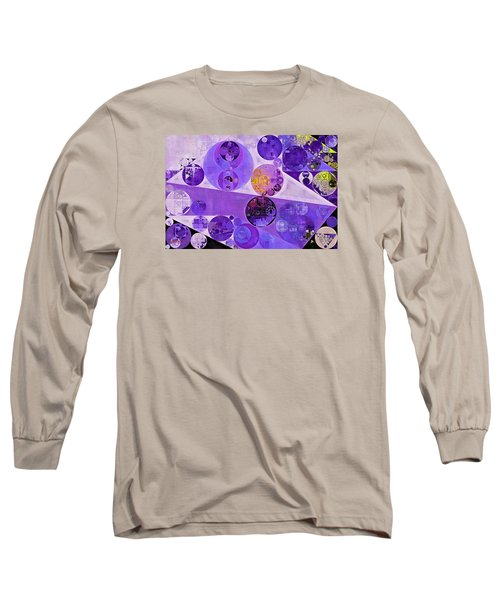 Abstract Painting - Blackcurrant Long Sleeve T-Shirt by Vitaliy Gladkiy