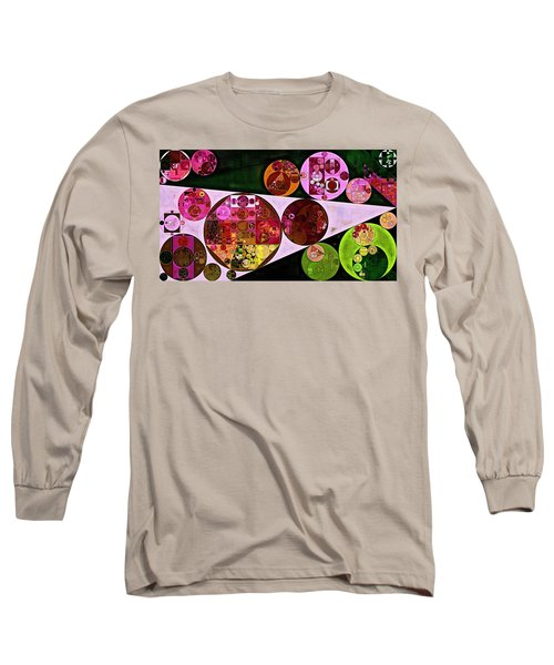 Abstract Painting - Pink Pearl Long Sleeve T-Shirt