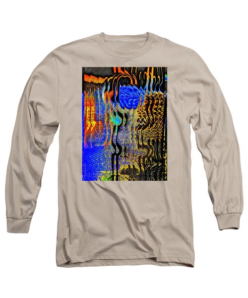 Long Sleeve T-Shirt featuring the photograph Abstract Photography 001-16 by Mimulux patricia no No
