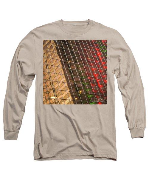 Abstract Reflection Long Sleeve T-Shirt