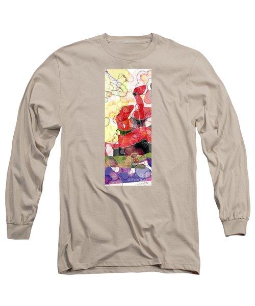 Abstract Submarine Long Sleeve T-Shirt by Gabrielle Schertz