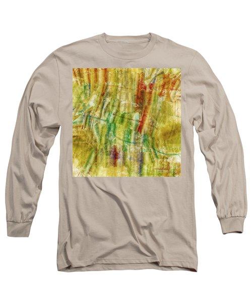 Long Sleeve T-Shirt featuring the digital art Abstract Sunday by Deborah Benoit
