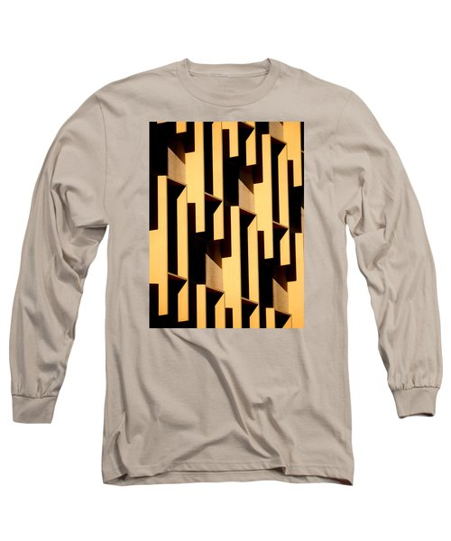 State Building Abstract Long Sleeve T-Shirt