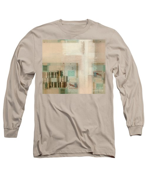 Long Sleeve T-Shirt featuring the digital art Abstractitude - C01b by Variance Collections