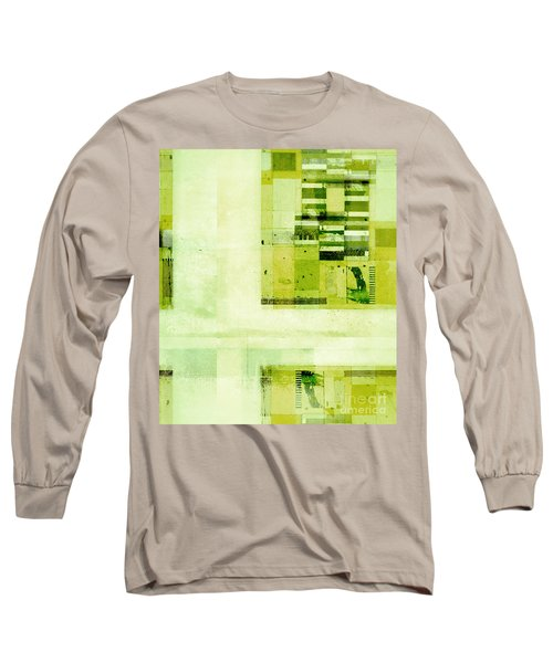 Long Sleeve T-Shirt featuring the digital art Abstractitude - C4v by Variance Collections