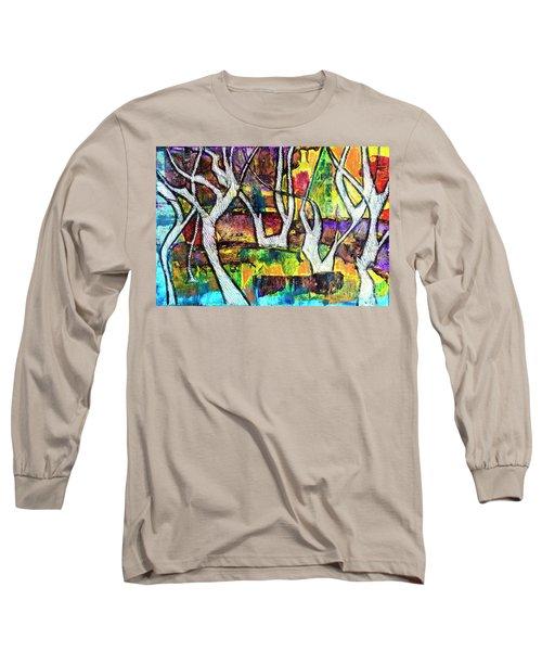 Acrylic Forest  Long Sleeve T-Shirt