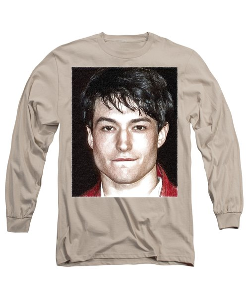 Actor And Musician Ezra Miller Long Sleeve T-Shirt by Best Actors