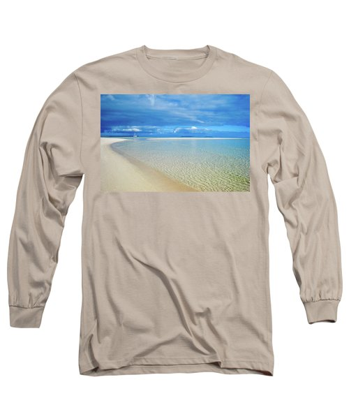 Adagio Alone In Ouvea, South Pacific Long Sleeve T-Shirt