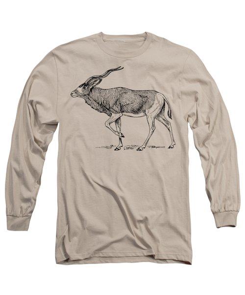 Addax Antelope Long Sleeve T-Shirt