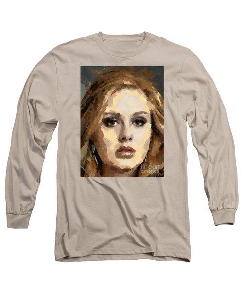 Adele Long Sleeve T-Shirt by Dragica Micki Fortuna