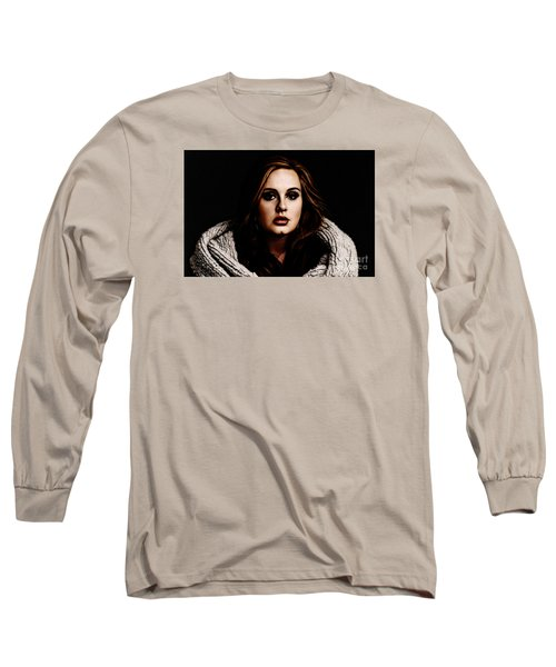 Adele Long Sleeve T-Shirt by The DigArtisT