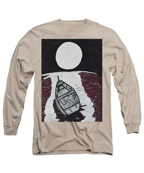 Adrift Long Sleeve T-Shirt by Jonathon Hansen