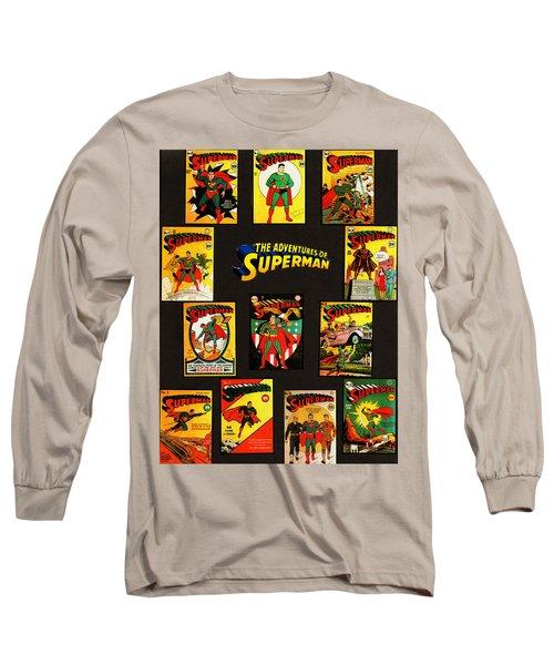 Adventures Of Superman Long Sleeve T-Shirt