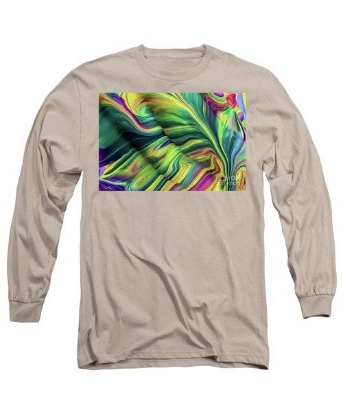 Aegean Wave Long Sleeve T-Shirt