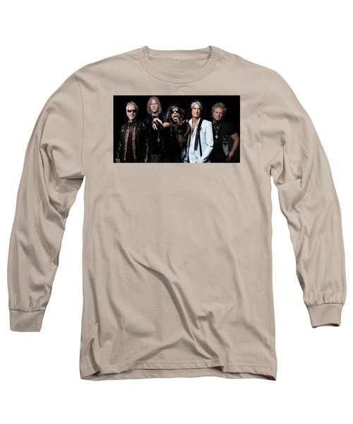 Aerosmith Long Sleeve T-Shirt by Sean