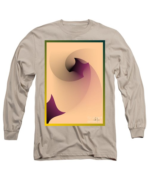Affect Long Sleeve T-Shirt by Leo Symon