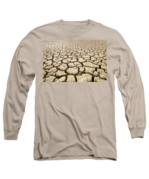 Africa Cracked Mud Long Sleeve T-Shirt