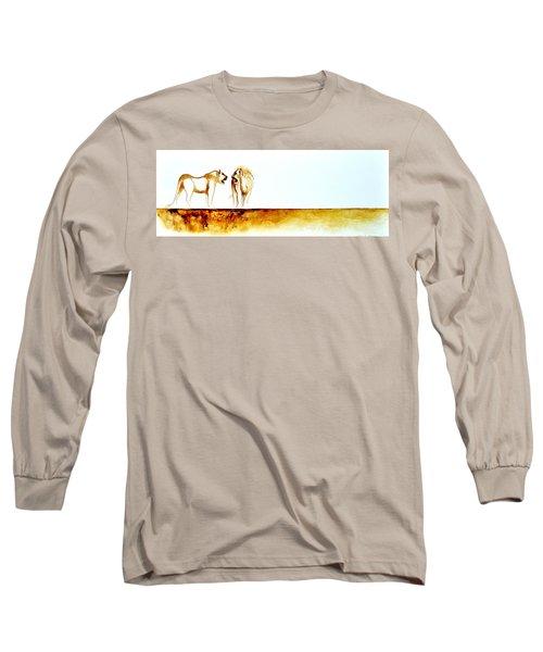 African Marriage - Original Artwork Long Sleeve T-Shirt