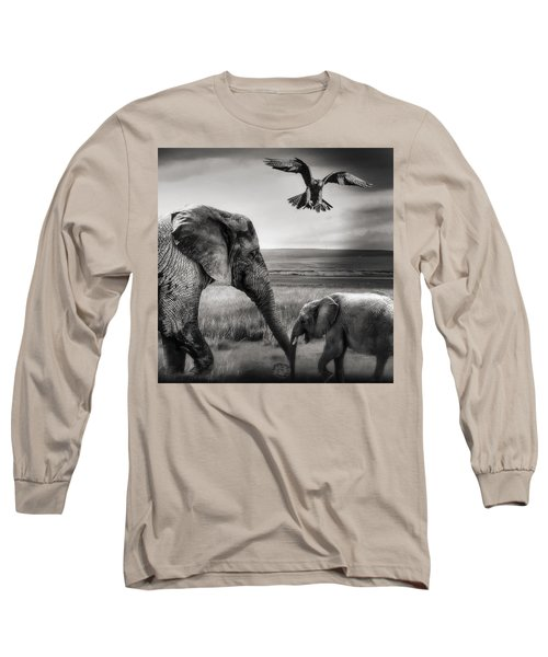 African Playground Long Sleeve T-Shirt