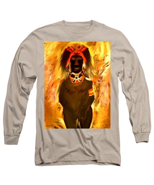 African Warrior Long Sleeve T-Shirt