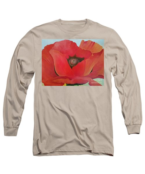 After Georgia Long Sleeve T-Shirt by Susan Williams