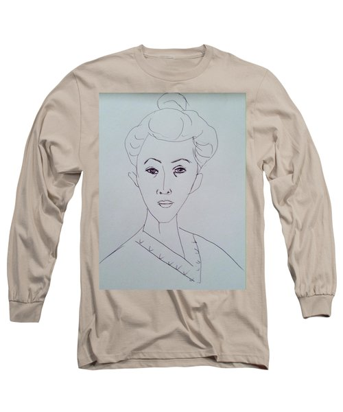 After Matisse  Long Sleeve T-Shirt by Hae Kim