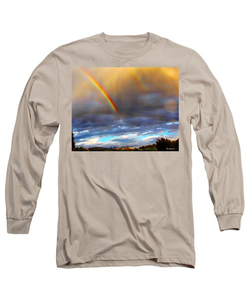 After The Storm El Valle New Mexico Long Sleeve T-Shirt