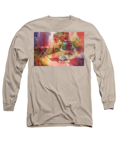 Afternoon Light Giverny, France Long Sleeve T-Shirt