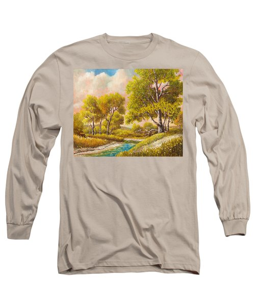 Afternoon Shade Long Sleeve T-Shirt