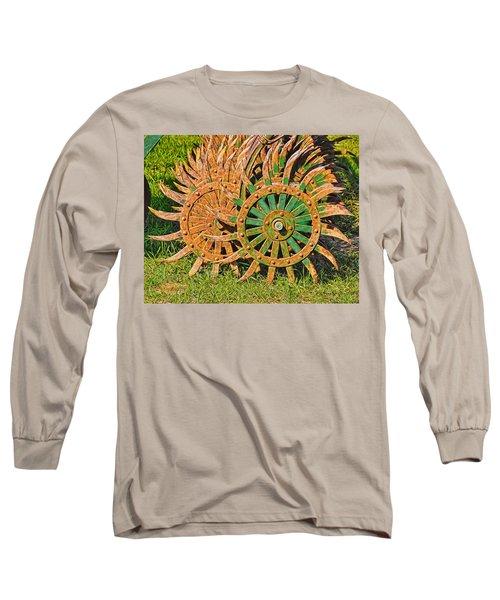 Ag Machinery Starburst Long Sleeve T-Shirt