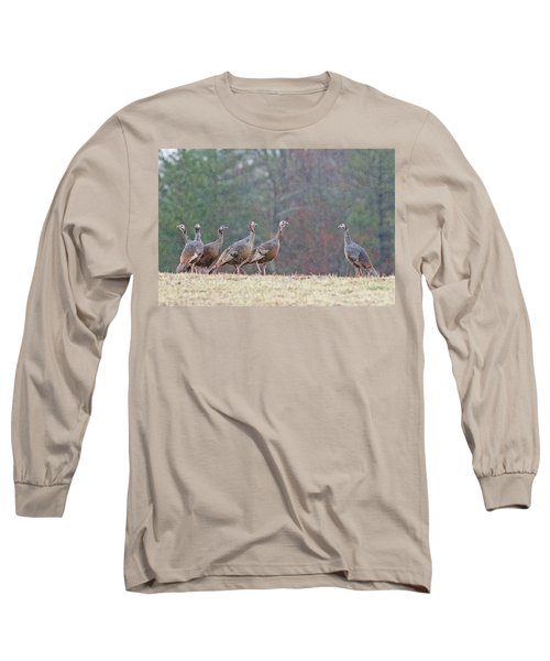 Long Sleeve T-Shirt featuring the photograph Against The Crowd 1287 by Michael Peychich