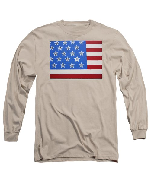 Agitate Long Sleeve T-Shirt by Otis L Stanley
