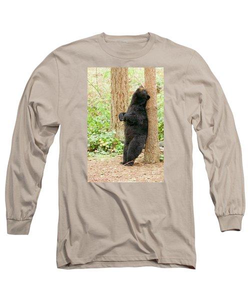 Ahhhhhh Long Sleeve T-Shirt by Sean Griffin