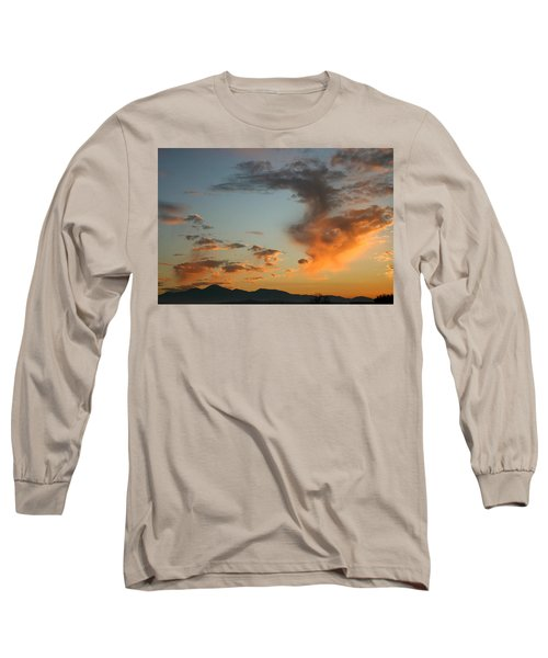 Long Sleeve T-Shirt featuring the photograph Air Ball Cough by Marie Neder