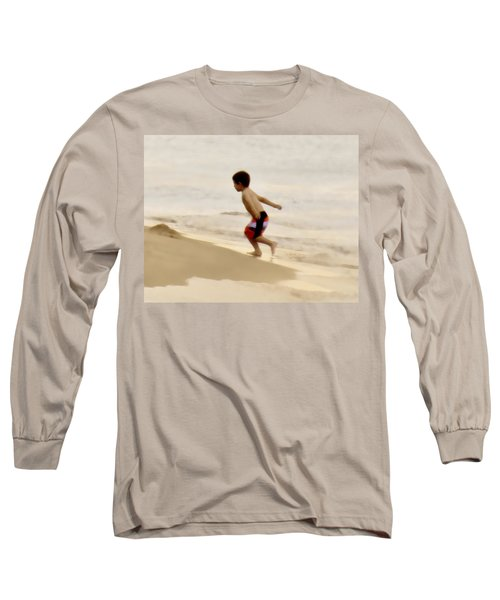 Airplane Boy Long Sleeve T-Shirt