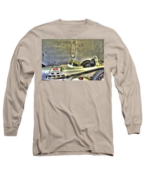 Aj Foyt 1961 Roadster Long Sleeve T-Shirt by Josh Williams