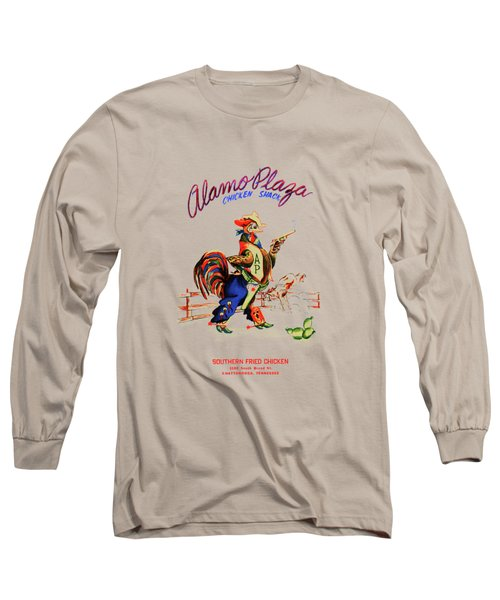 Alamo Plaza Tennessee 1950s Long Sleeve T-Shirt